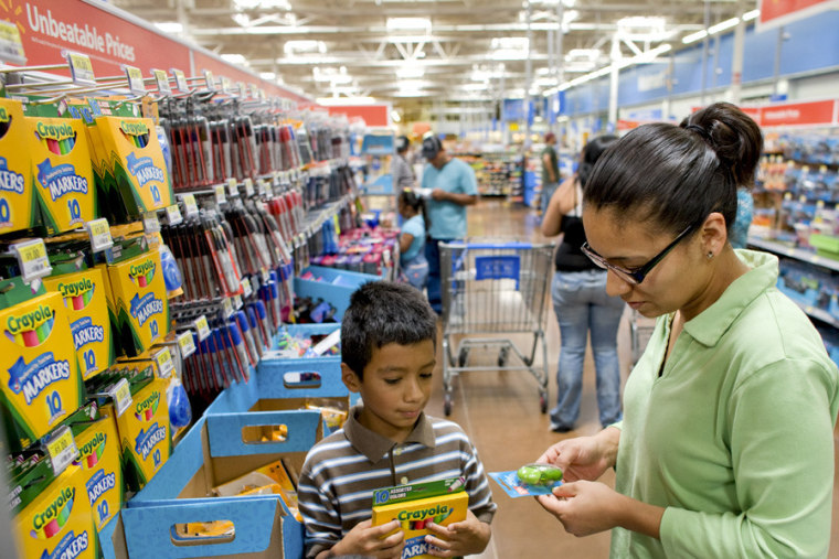 Back-to-school shoppers are either early-bird bargain hunters or perennial procrastinators.