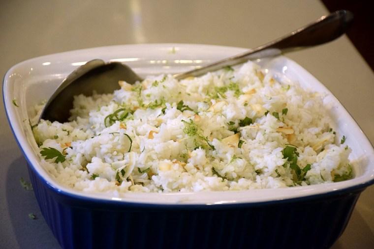 Natalie's coconut rice