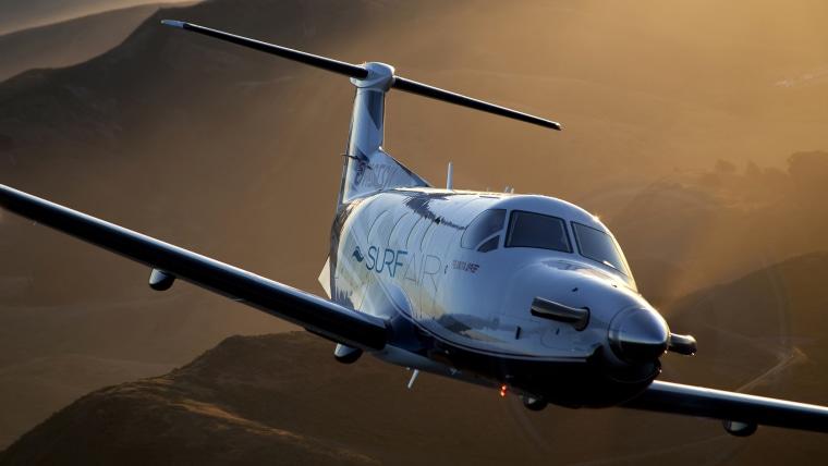 SurfAir private jet