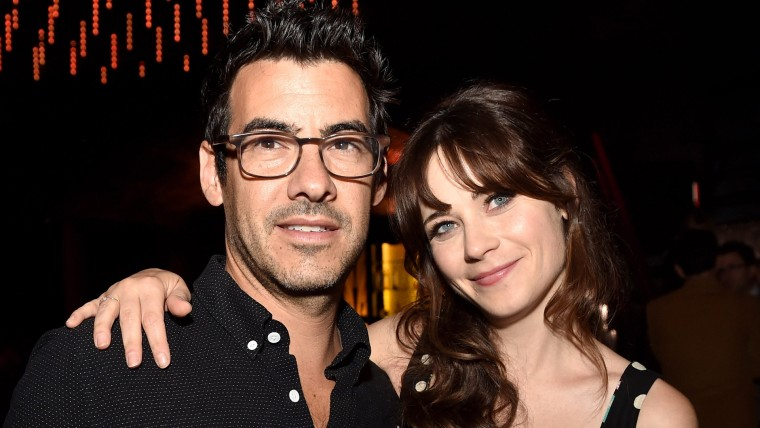 """FILE: Zooey Deschanel and Jacob Pechenik, Married and Have Welcomed a Baby Girl Premiere Of Roadside Attractions' """"The Skeleton Twins"""" - After Party"""