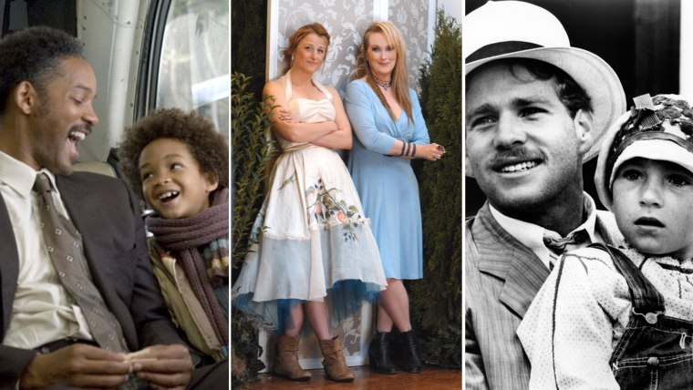 All in the family: 13 stars who've acted onscreen with their real-life kids