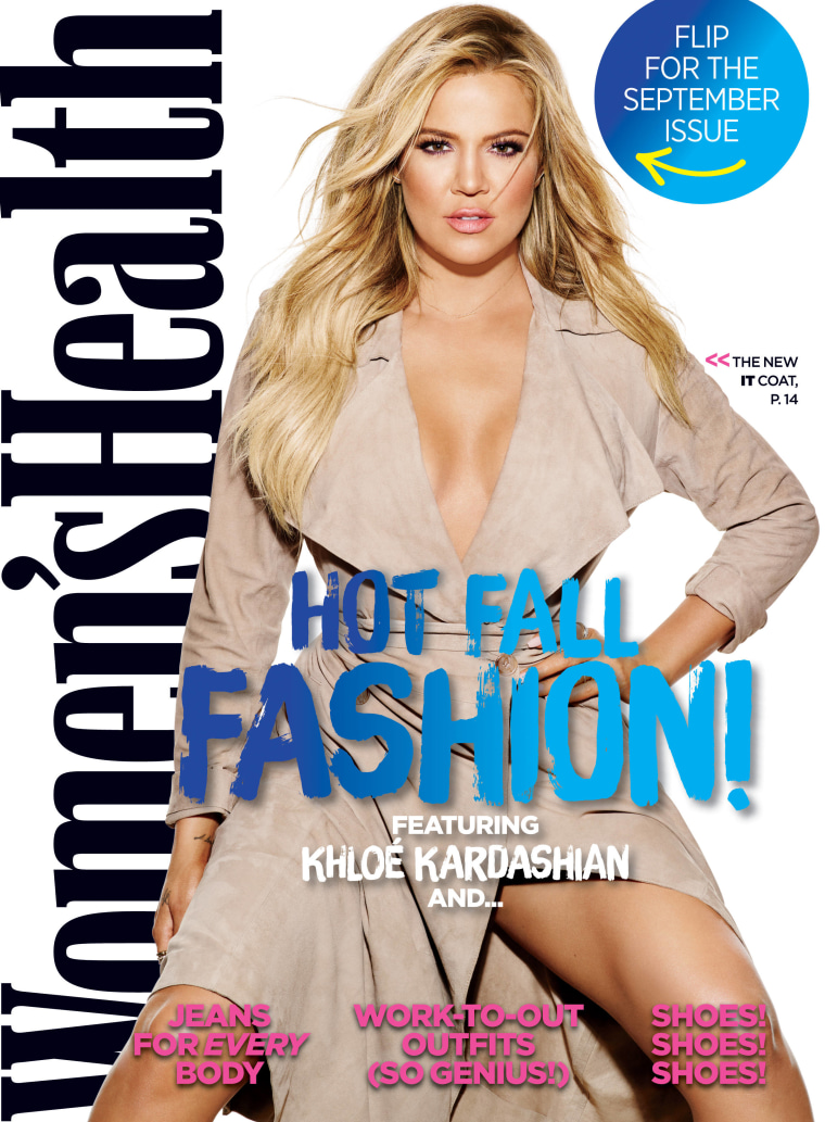 The September 2015 edition of Women's Health, featuring a Khloé Kardashian cover story, was expected to arrive on newsstands the first week of August.