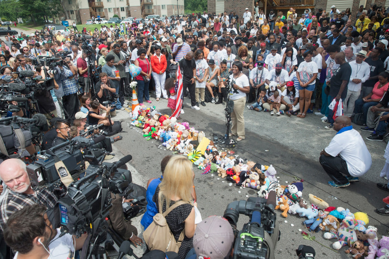 Image: Ferguson, Missouri Marks One-Year Anniversary Of The Death Of Michael Brown