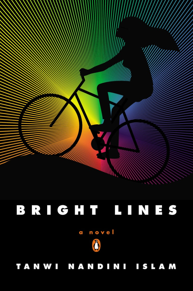 The cover of 'Bright Lines'.