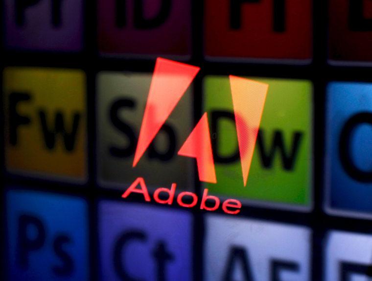 Image: Adobe logo