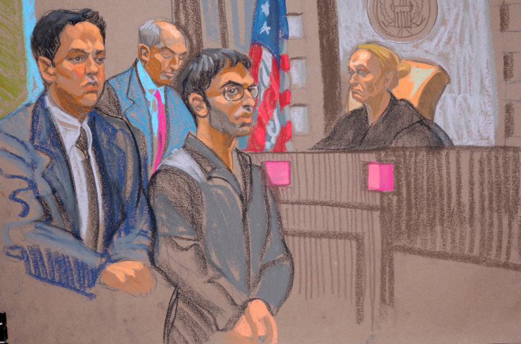 Image: Nader Saadeh in court