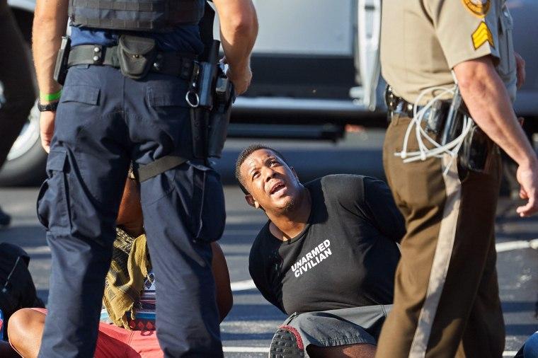 Image: US-POLICE-RACISM-UNREST