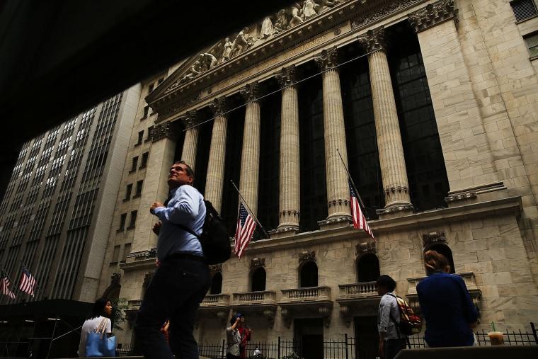 Image: The New York Stock Exchange