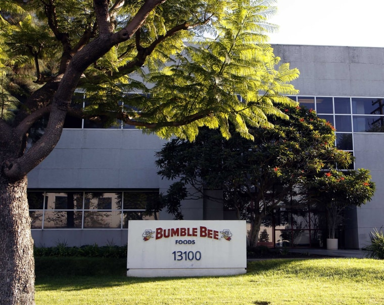 Image: Bumble Bee tuna processing plant in Santa Fe Springs, California