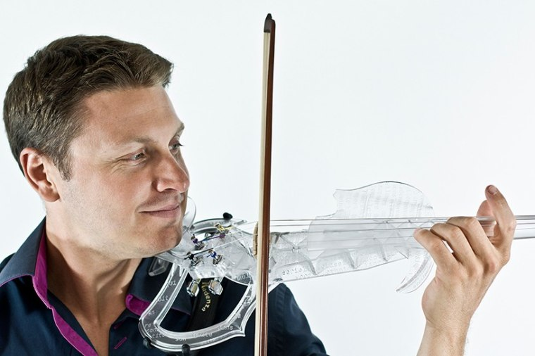 Laurent Bernadac plays the 3Dvarius violin.