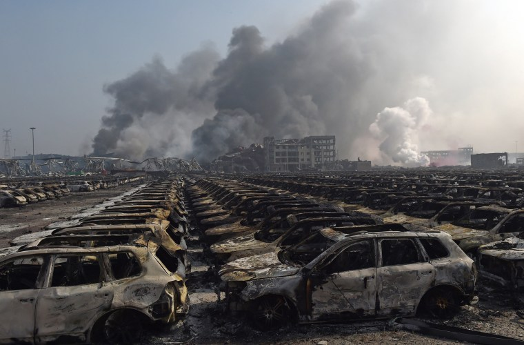 Image: CHINA-EXPLOSION-TIANJIN