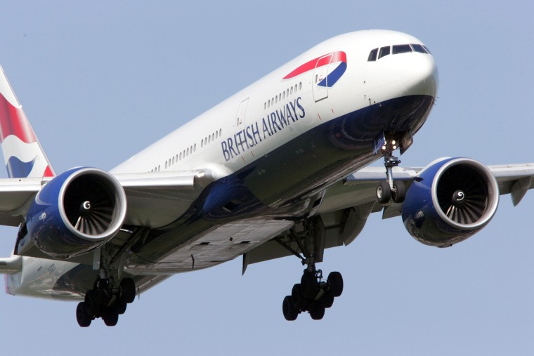 Image: British Airways Boeing 777 arriving at Heathrow Airport