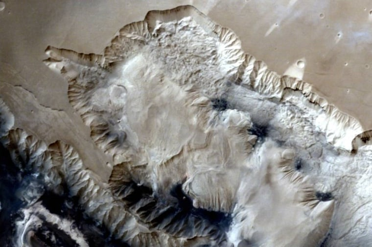 India's Mars Orbiter Captures Striking View of Red Planet's Canyons