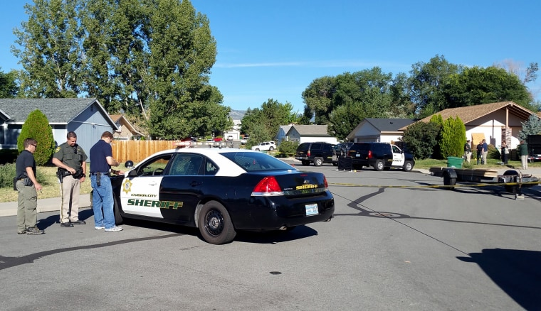 Image: sheriff's deputy was shot and killed in Nevada
