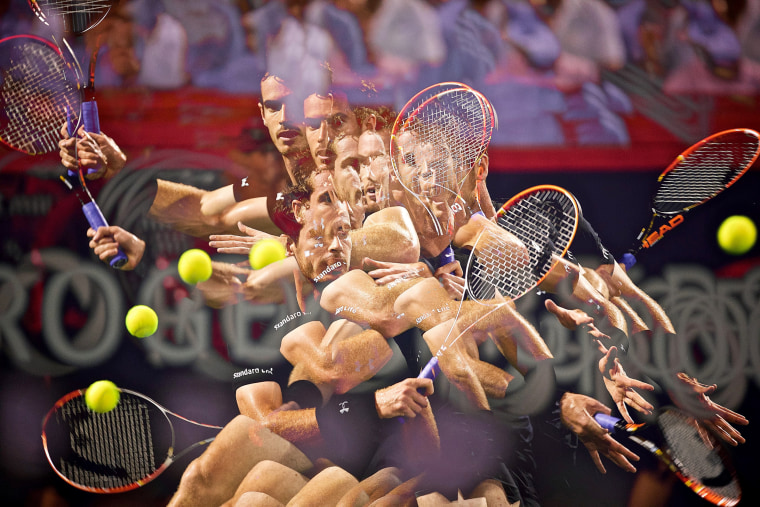 Image: Rogers Cup Open ATP tennis tournament