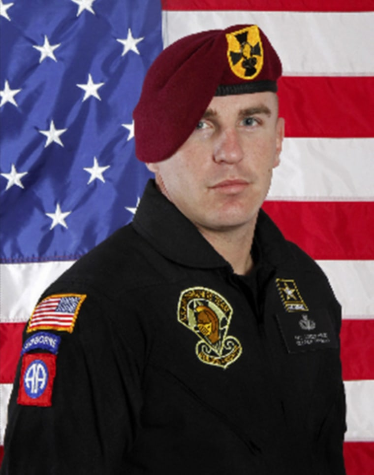 IMAGE: Army Sgt. First Class Corey Hood