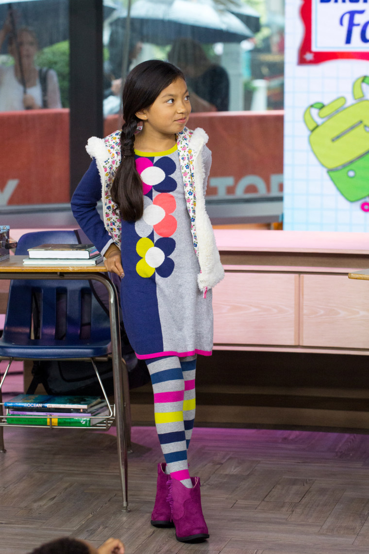 Back-to-school fashions for boys and girls