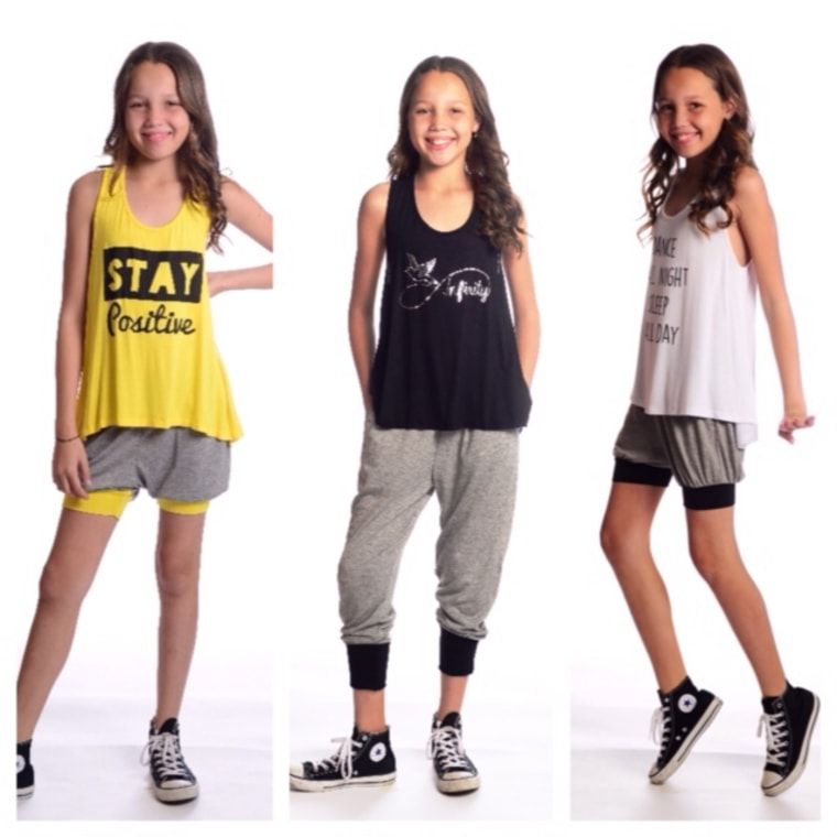 12-year-old's fashion line, Rosie G, funds fight against cystic fibrosis