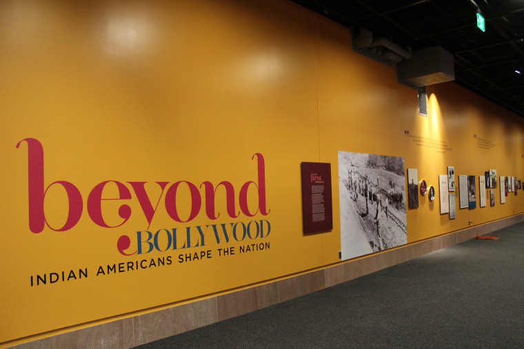 """Smithsonian Asian Pacific American Center's """"Beyond Bollywood: Indian Americans Shape the Nation"""" at the National Museum of Natural History, Washington, DC"""