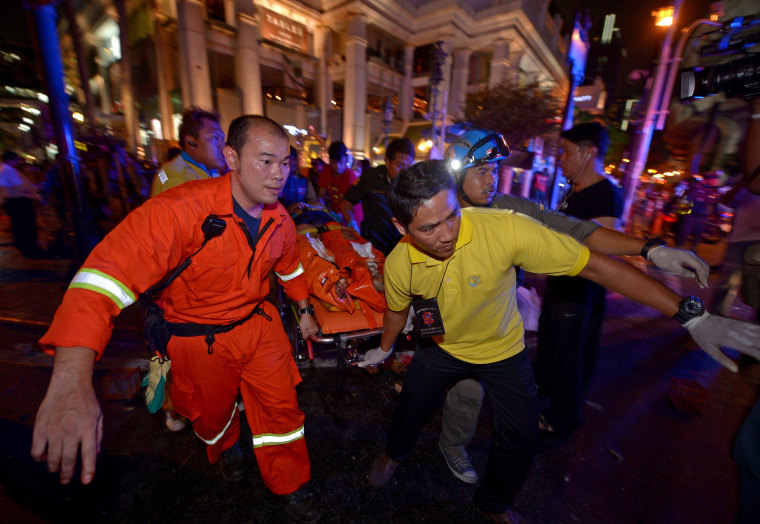 Image: TOPSHOTS-THAILAND-UNREST-BOMBING