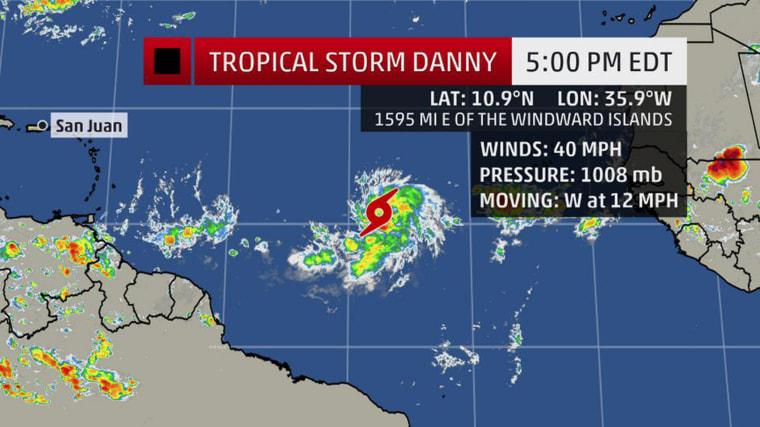 Image: Super Storm Danny 2015