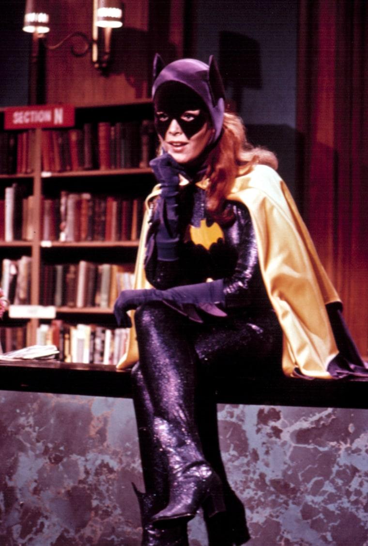 Image: Yvonne Craig as Batgirl