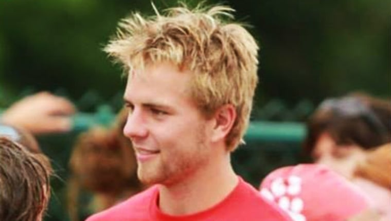 Joe Keller, 19, who disappeared in July while out on a run in a remote area of Colorado.