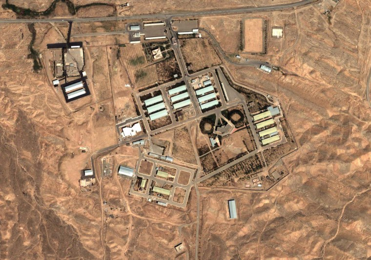 Image: Military complex at Parchin, Iran