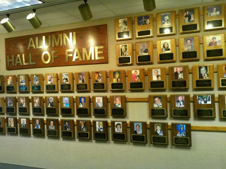 Image: North Central Wall of Fame