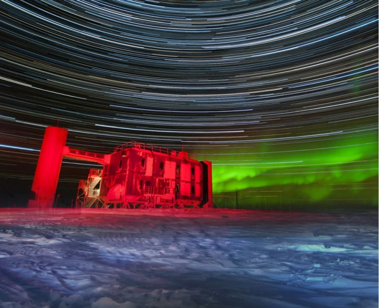 Image: IceCube Lab at the South Pole