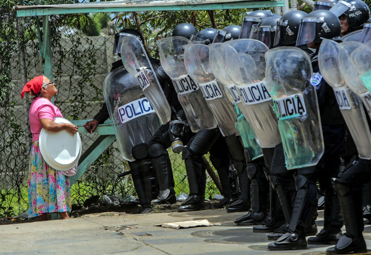 Image: Managua protests