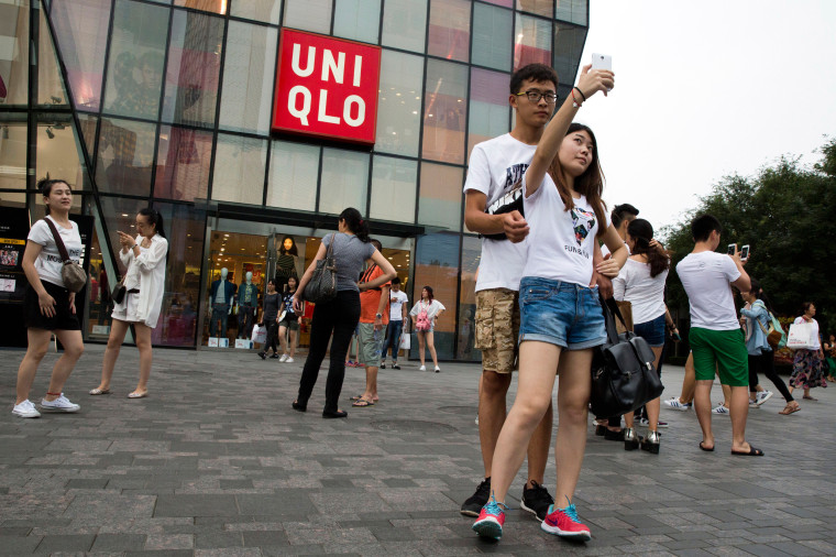 Image: Uniqlo store in Beijing, China
