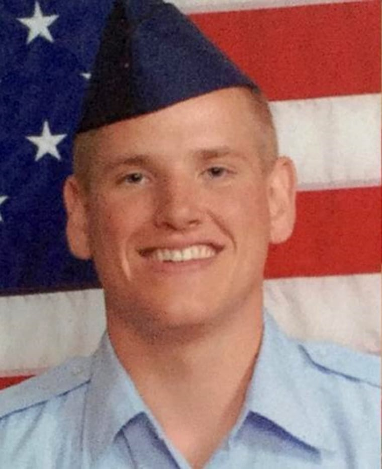 Air Force releases photo of Spencer Stone in uniform