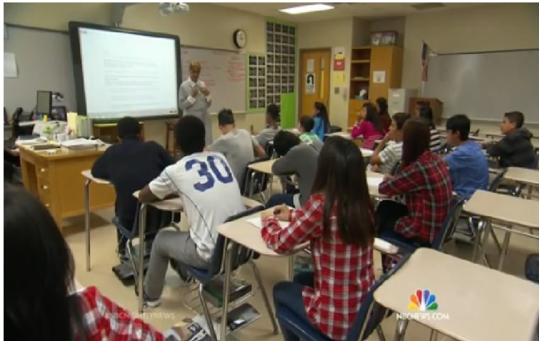 Many students could be heading back to crowded classrooms this year as the nation faces a major teacher shortage.