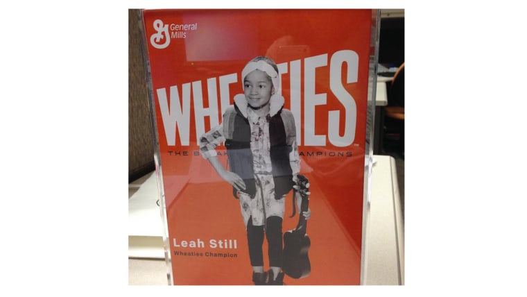Thanks @wheatiescereal in the words straight out of Leah's mouth, this is so awesome!! #LeahStrong #StillStrong
