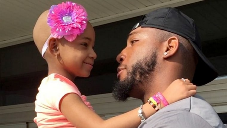 Leah Still with Devon Still