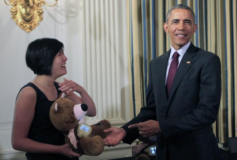 Image: President Obama Celebrates US Entrepreneurship At White House Demo Day