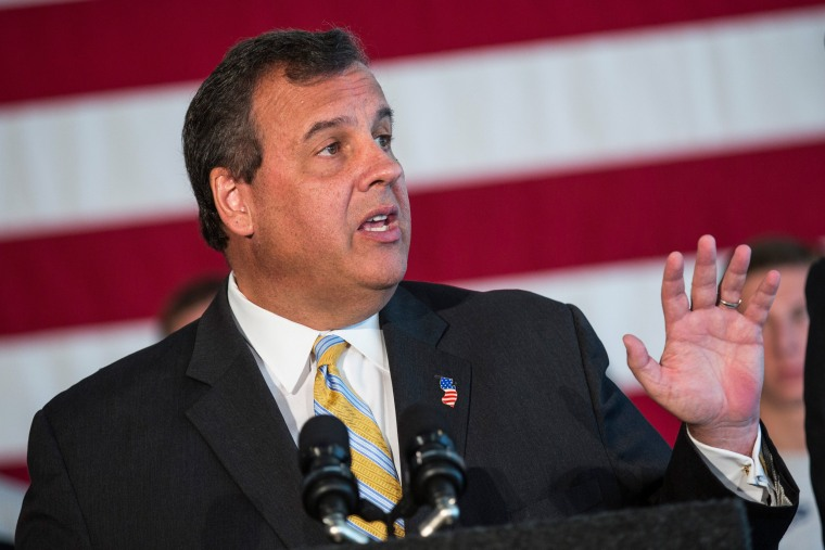 Image: Governor Chris Christie Holds News Conference Urging NJ Congressional Members To Oppose Iran Deal