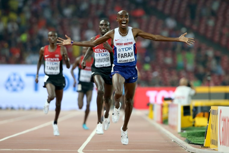 Sweat, Medals and Tears as World Athletes Compete in Beijing
