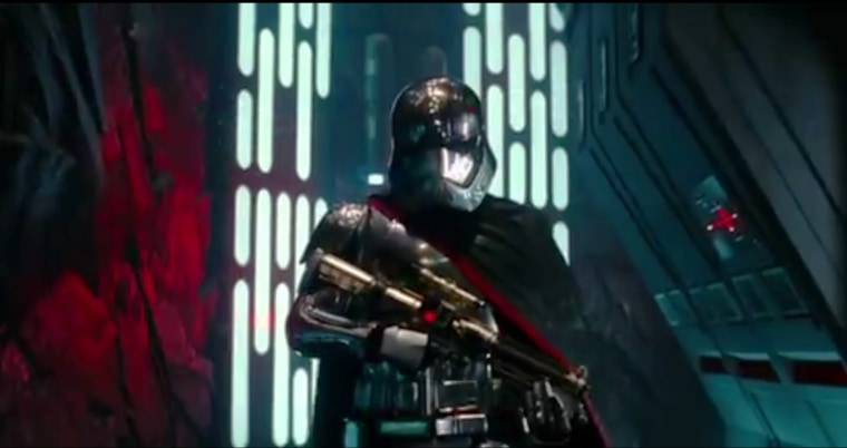 Image: A screen grab from the upcoming Star Wars