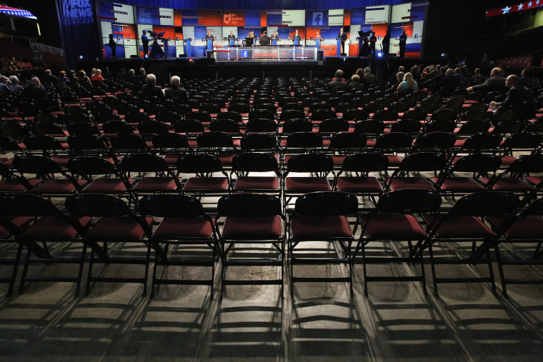 Image: GOP Presidential Candidates Participate In Pre-Debate Forum In Cleveland