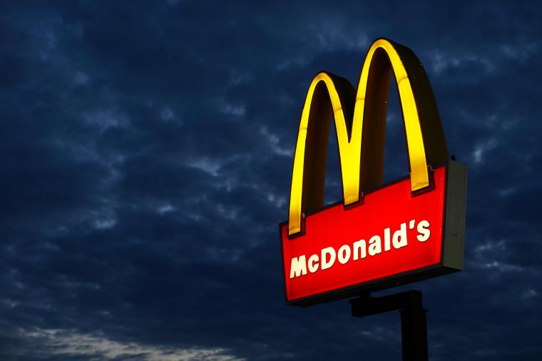 Image: A McDonald's restaurant is pictured in Encinitas, California