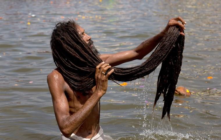 Image: Hindu holy man