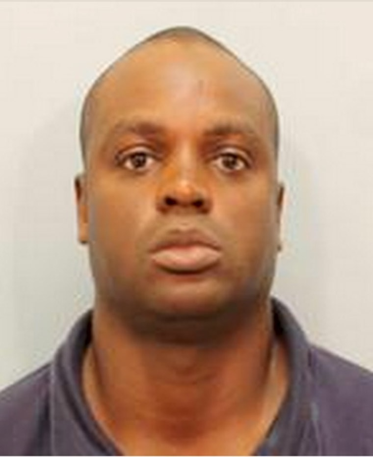 Image: Shannon Miles, who has been arrested in connection with the shooting death of deputy Darren Goforth at a Houston gas station, is seen in this handout booking photo provided by Harris County Sheriff's Office in Houston, Texas
