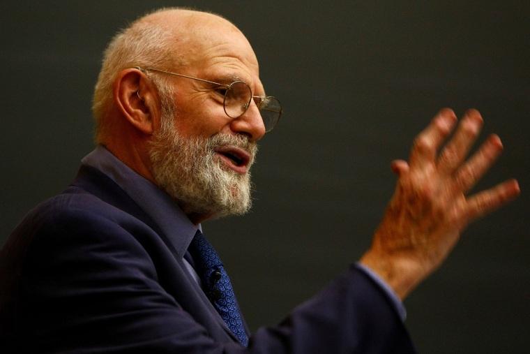 Image: (FILE) Neurologist And author Oliver Sacks Dies At 82 Neurologist Dr. Oliver Sacks Speaks At Columbia University