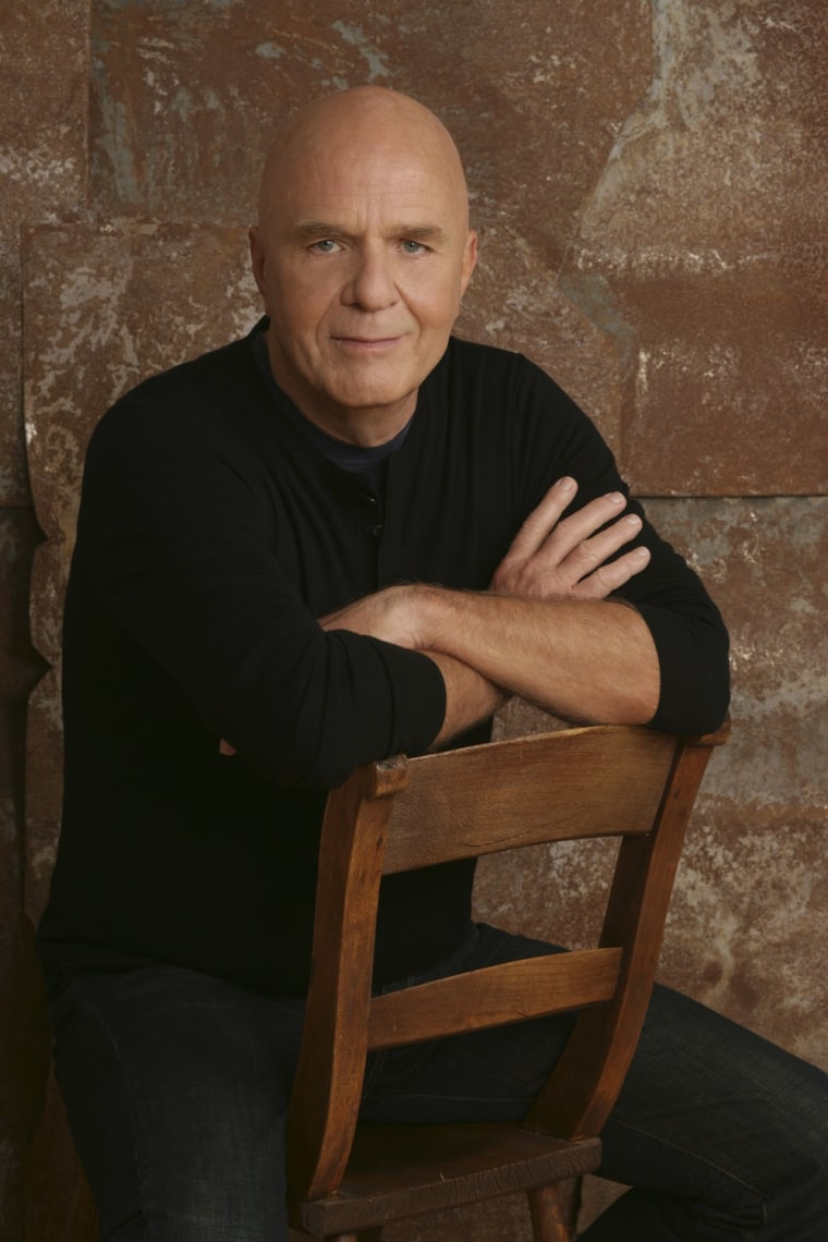 IMAGE: Dr. Wayne Dyer in a PBS promotional photo