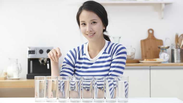 8 glasses of water a day? The common recommendation isn't recommended at all