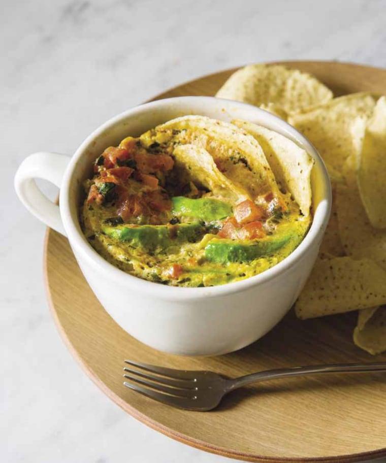 Huevos Rancheros Microwave Mug Eggs recipe