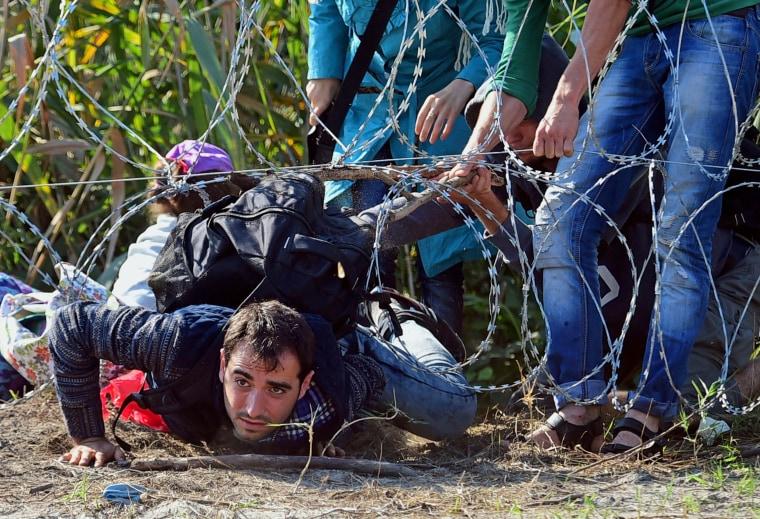 Image: HUNGARY-EUROPE-SERBIA-EU-MIGRANTS