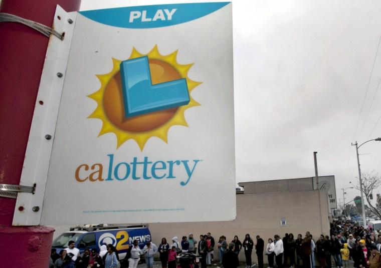 Image: Hubert Tang won LA lottery